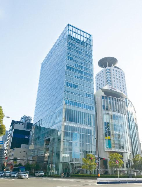 事業拡大のため大阪に本社を移転しました